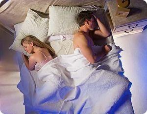 Как спать мужу с женой вместе или раздельно