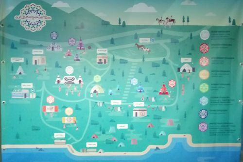 Схема территории фестиваля