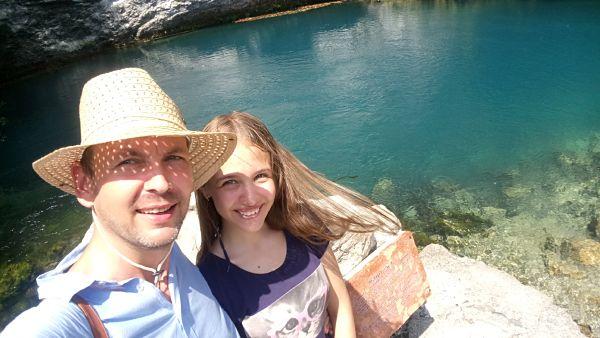 Голубое озеро Рицский заповедник