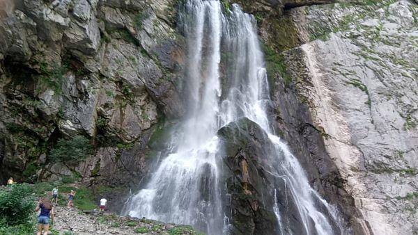 Гегский водопад<br />  Абхазия