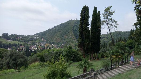 Смотровая площадка рядом с монастырём