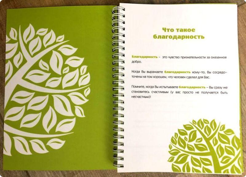 Дневник благодарности важные правила